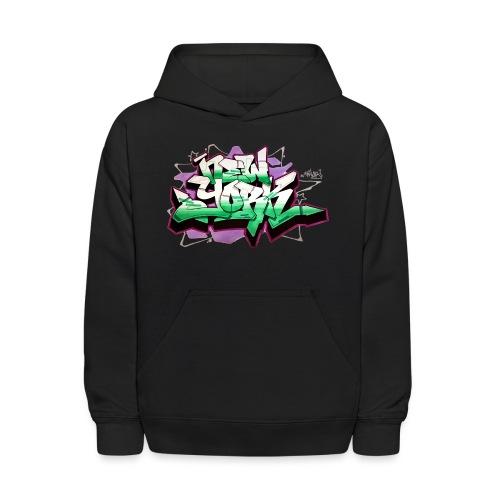 RANGE - Design for New York Graffiti Color Logo - Kids' Hoodie