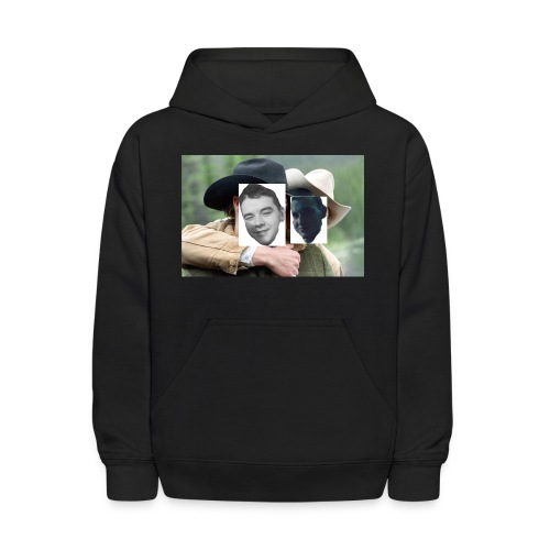 Darien and Curtis Camping Buddies - Kids' Hoodie