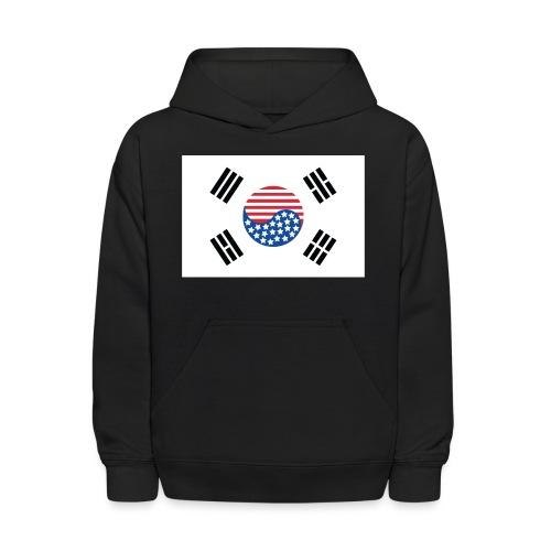 Korean American Flag - Kids' Hoodie