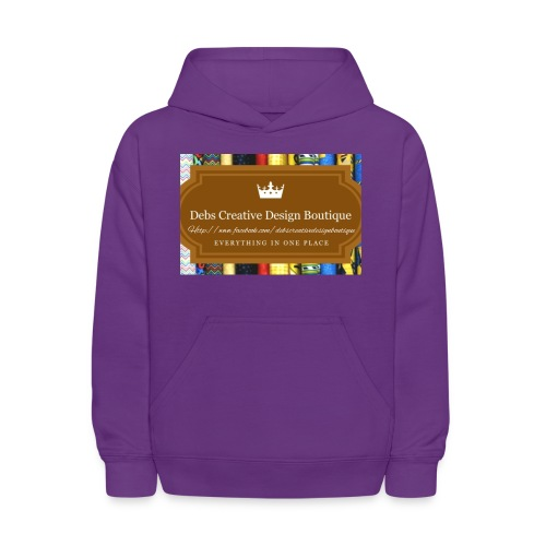 Debs Creative Design Boutique with site - Kids' Hoodie