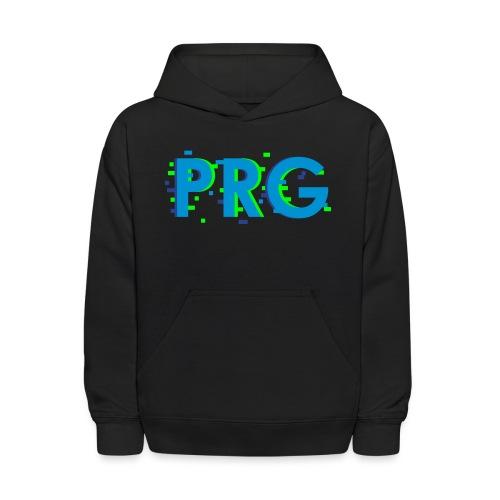 PRG distorted Neon libertarian Design - Kids' Hoodie