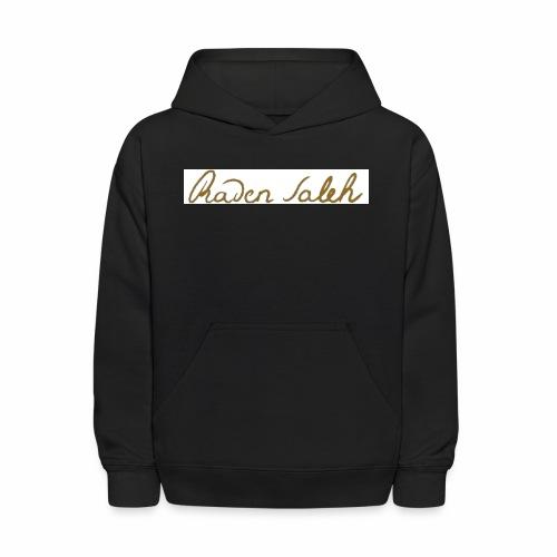 raden saleh signature shirts gross - Kids' Hoodie