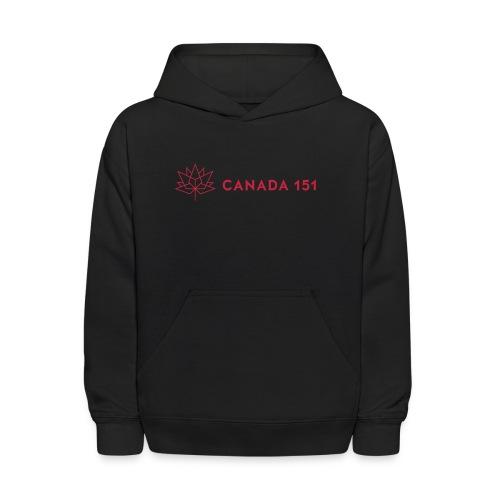 Canada 151 - Kids' Hoodie