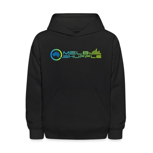 Melbshuffle Gradient Logo - Kids' Hoodie