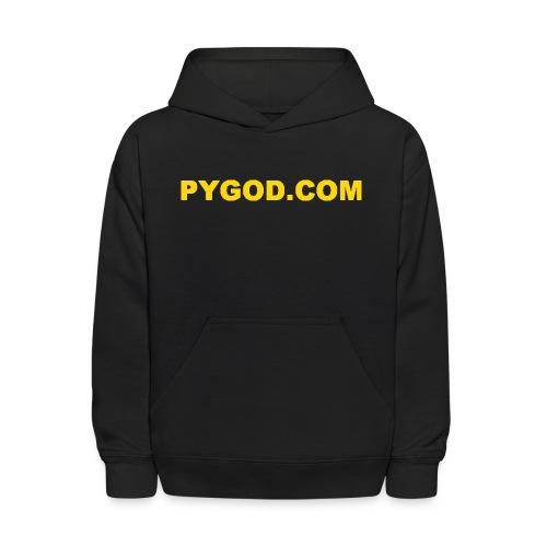 PYGOD COM LOGO - Kids' Hoodie