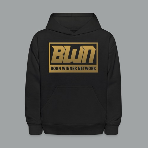BWN (Gold) - Kids' Hoodie
