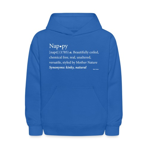 Nappy Dictionary_Global Couture Women's T-Shirts - Kids' Hoodie