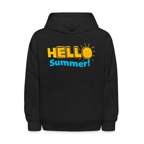 Kreative In Kinder Hello Summer! - Kids' Hoodie