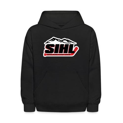 SIHL Logo White Outlined - Kids' Hoodie