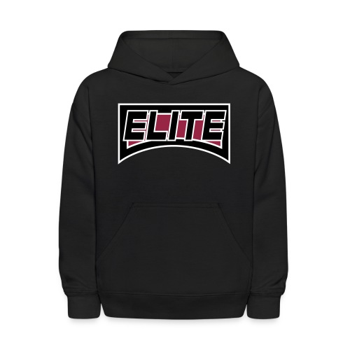 elite 4 inch crest logo file - Kids' Hoodie