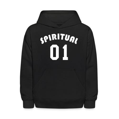 Spiritual 01 - Team Design (White Letters) - Kids' Hoodie