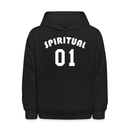 Spiritual 01 - Team Design (White Letters) - Kids' Hoodie