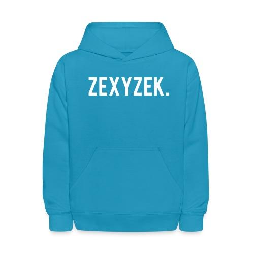 ZexyZekPeriod png - Kids' Hoodie