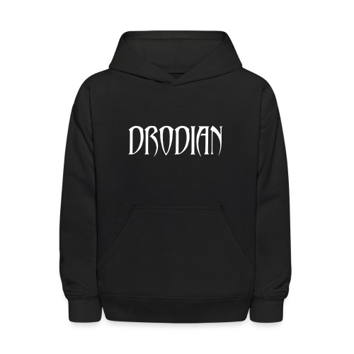 CLASSIC DRODIAN (WHITE LETTERS) - Kids' Hoodie