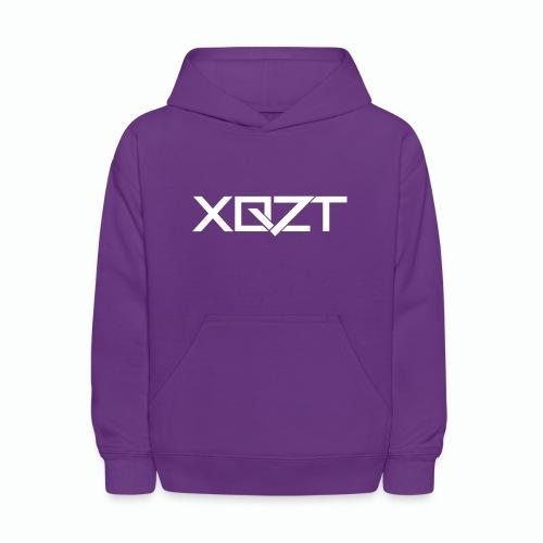 #XQZT Logo Snow White - Kids' Hoodie