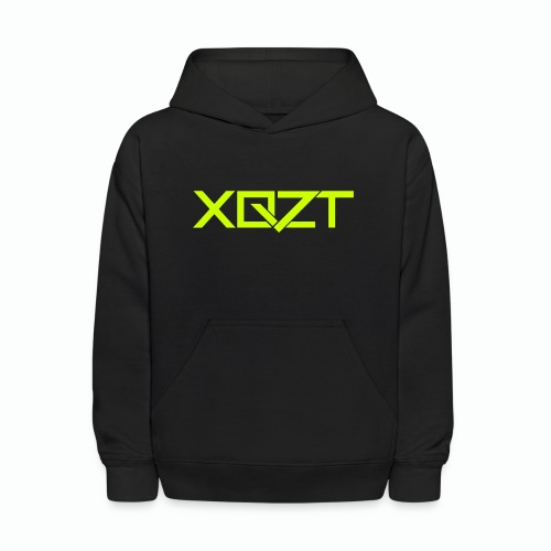 #XQZT Logo Lime Light - Kids' Hoodie