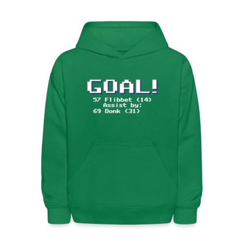 Buzz Flibbet Goal Assisted by Mark Donk - Kids' Hoodie