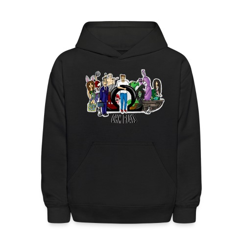 Ohm Shirt Ohm Plays Final Version Title png - Kids' Hoodie