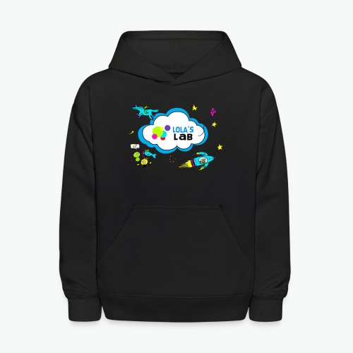 Lola's Lab illustrated logo tee - Kids' Hoodie