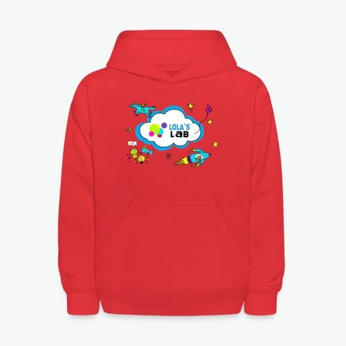 Lola's Lab illustrated logo tee - Kids' Hoodie
