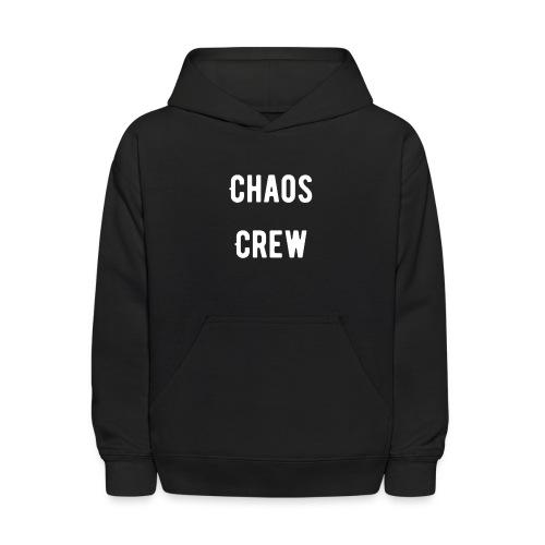 Chaos Crew White - Kids' Hoodie