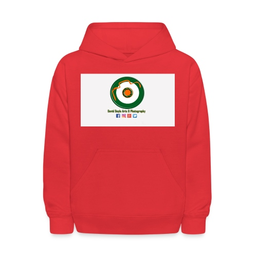 David Doyle Arts & Photography Logo - Kids' Hoodie