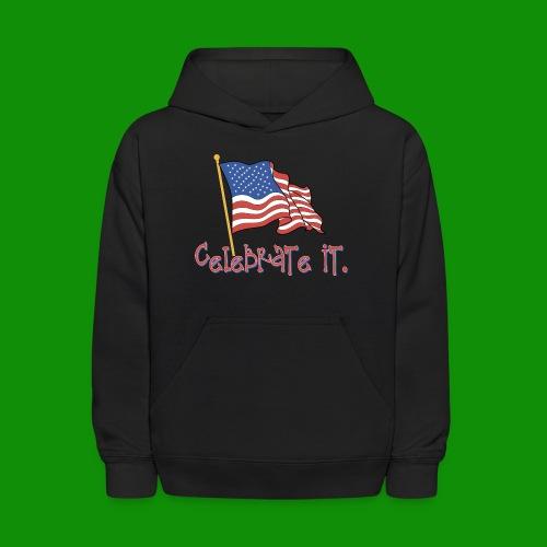 USA Celebrate It - Kids' Hoodie