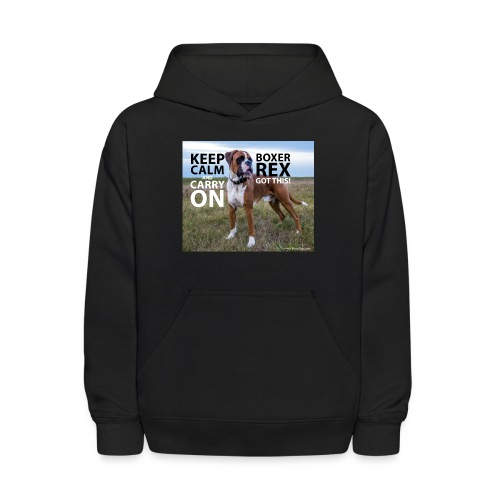 Keep calm and carry on - Kids' Hoodie