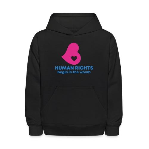 HUMAN RIGHTS - Kids' Hoodie