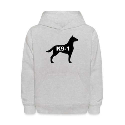 k9-1 Logo Large - Kids' Hoodie