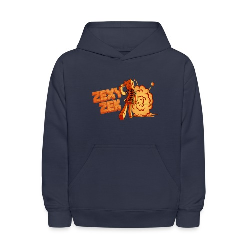 FireZek png - Kids' Hoodie