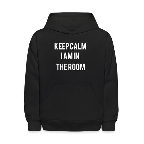 I'm here keep calm - Kids' Hoodie