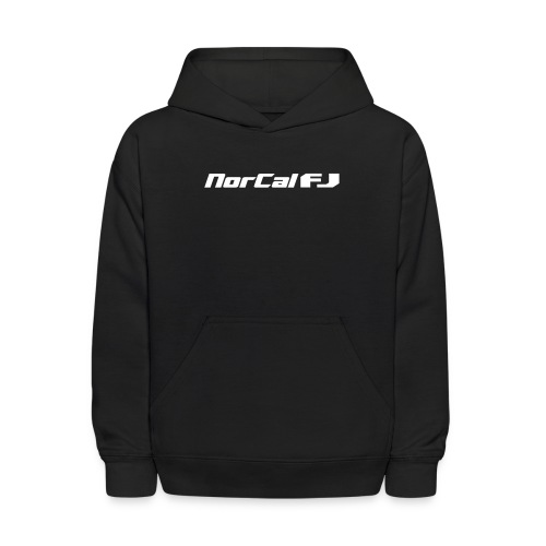 norcalfj textonly - Kids' Hoodie