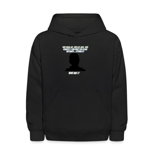 AnimeBusters Guess Who Series? -One Punch Man - Kids' Hoodie