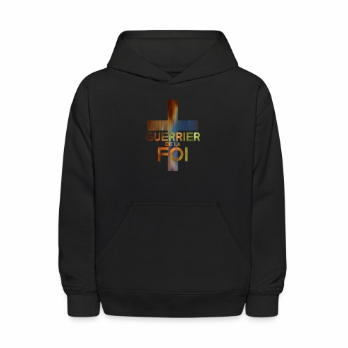 WARRIOR OF FAITH - Kids' Hoodie