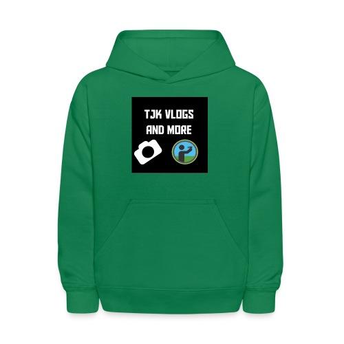 TJK Vlogs and More logo clothing - Kids' Hoodie