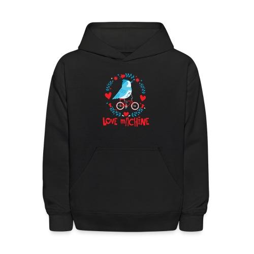 Cute Love Machine Bird - Kids' Hoodie