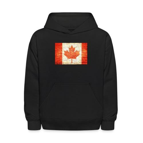 Canada flag - Kids' Hoodie