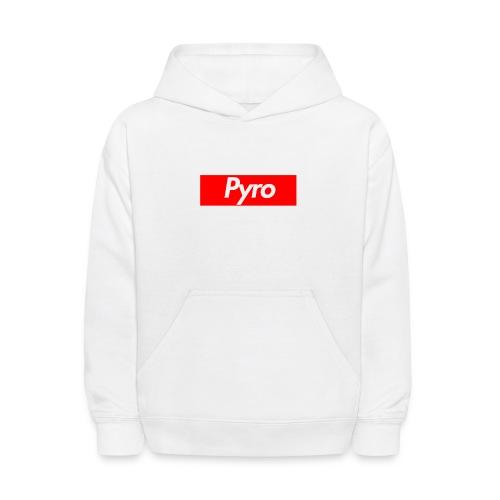 pyrologoformerch - Kids' Hoodie