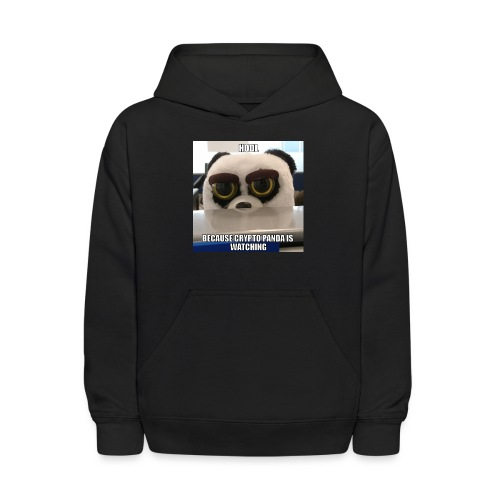 Crypto Panda Is Watching - Kids' Hoodie