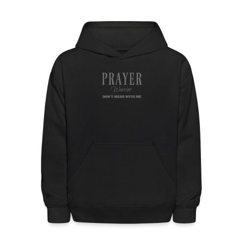 Prayer Warrior - Kids' Hoodie
