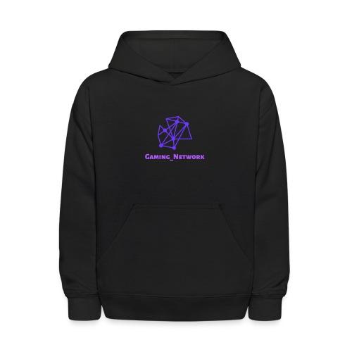 gaming network purple kids Hoodie - Kids' Hoodie
