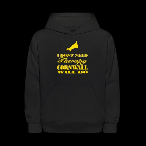 Don't need therapy/Cornwall - Kids' Hoodie