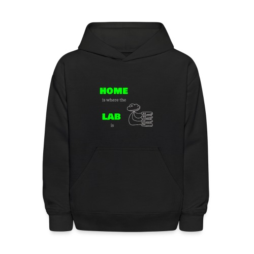 Home Is Where The Lab Is - Kids' Hoodie