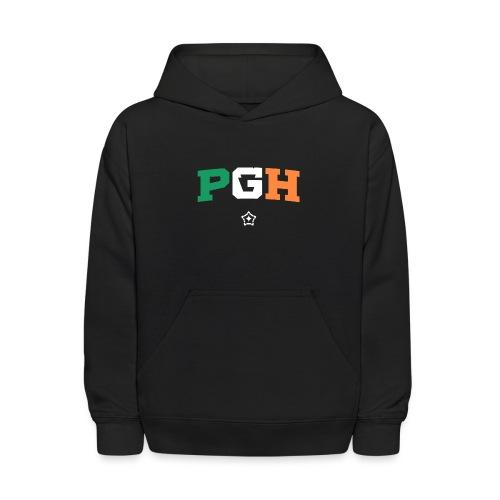 Block PGH - Irish Flag - Kids' Hoodie