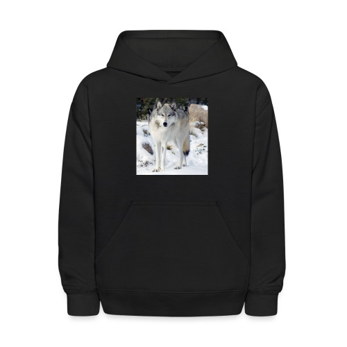 Canis lupus occidentalis - Kids' Hoodie
