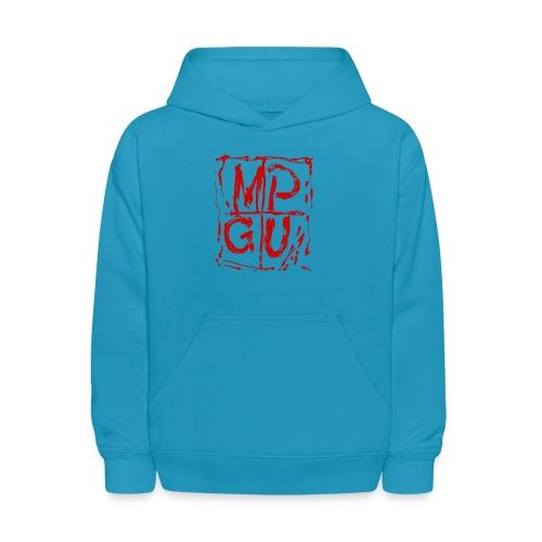 MPGU RED STROKE - Kids' Hoodie