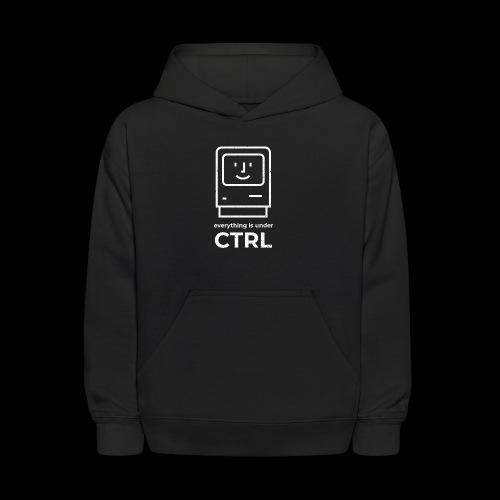 Everything is Under CTRL | Funny Computer - Kids' Hoodie