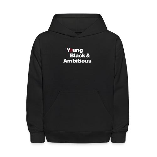 YBA Black Shirt2 - Kids' Hoodie