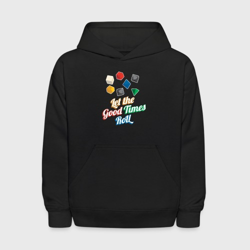 Let the Good Times Roll Dungeons & Dragons Dice - Kids' Hoodie